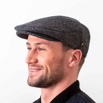 Donegal Tweed Flat Cap