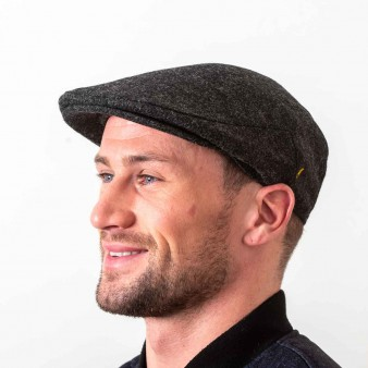 100% Pure New Wool Flat Cap